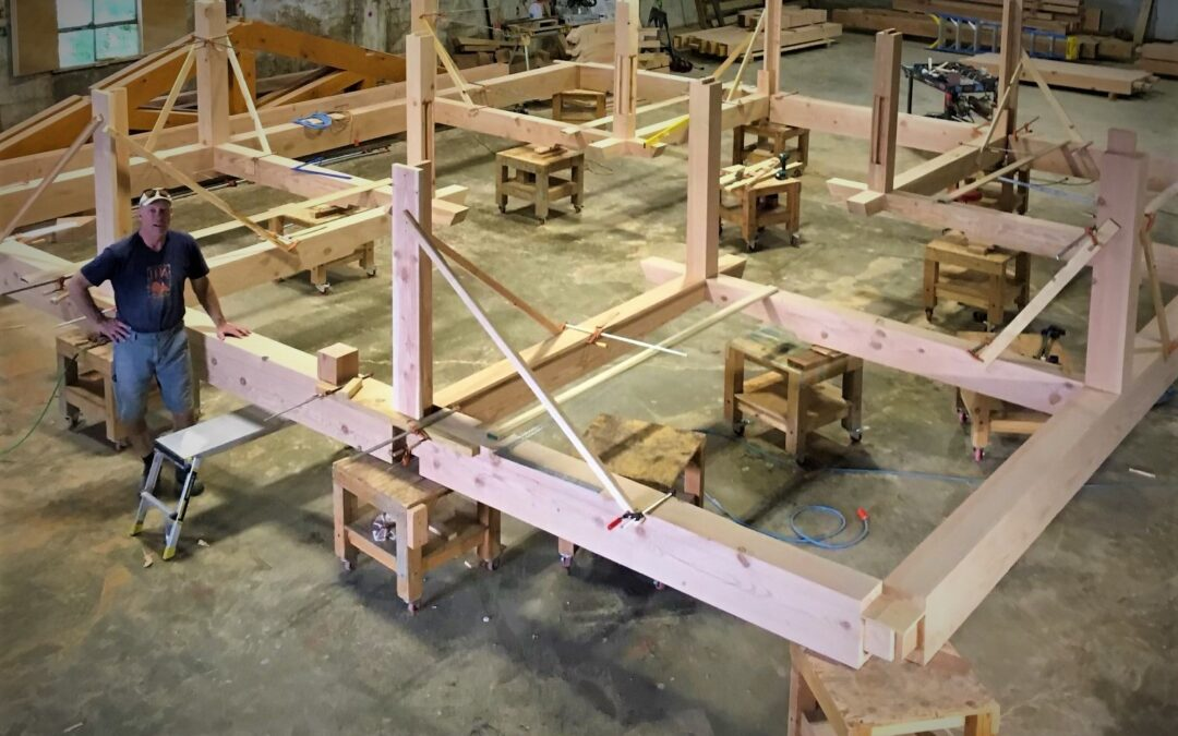 TLC Gardens – The lost art of timber framing interview